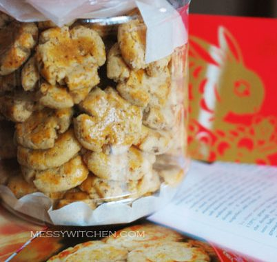 Chinese New Year Cookies Walnut Biscuit (Hup Toh Soh)