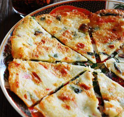 Haemul Pajeon – Korean Seafood & Spring Onions Pancake