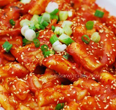 Super Spicy Tteokbokki