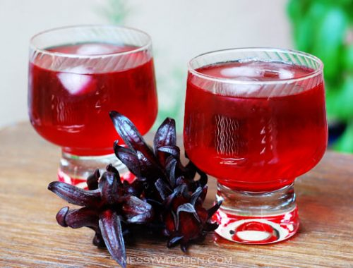 Healthy Roselle Juice