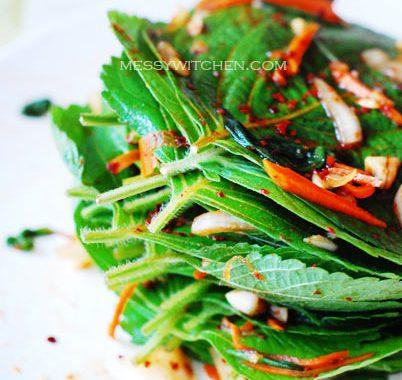 Perilla Leaves Kimchi