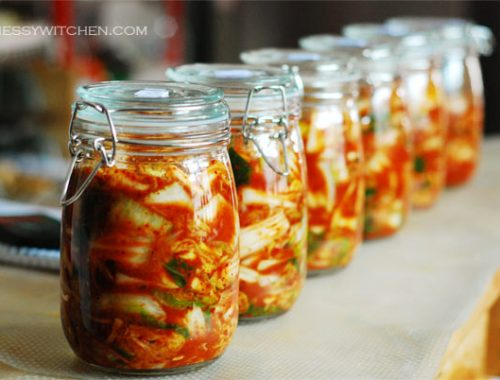 My Very First Kimchi Making Experience