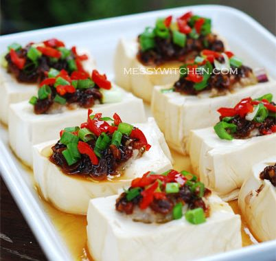 Steamed Soft Beancurd In Country Style
