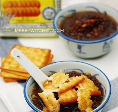 Red Beans With Tangerine Peel & Cream Crackers