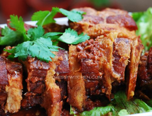 Hakka Pork Belly With Yam