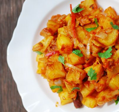 Gujarati-Style Spicy Potatoes