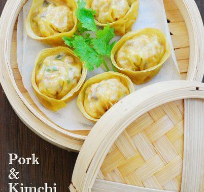 Pork & Kimchi Dumplings (Dwaeji Gogi & Kimchi Mandu)