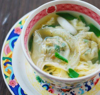 Mandu Guk – Korean Dumplings Soup