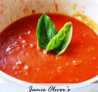 Jamie Oliver's Quickest Tomato Sauce