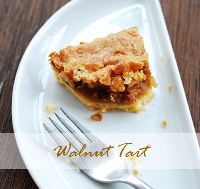 Walnut Tart - Tarte Aux Noix