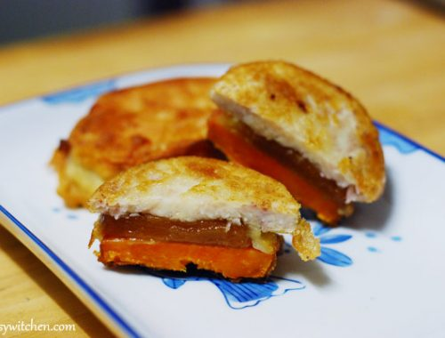 Fried Ti Kuih With Yam & Sweet Potato