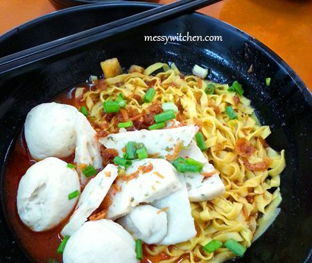 Fishball Noodles @ Fishball Story, Golden Mile Food Centre, Singapore