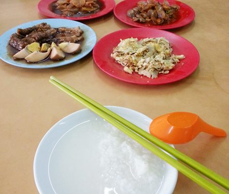 My Teochew Porridge Lunch @ Sin Teo Heng Restaurant, Klang