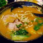 Miso Chashu Pork Ramen @ Man Ke Wu Ramen, Beitou, Taiwan