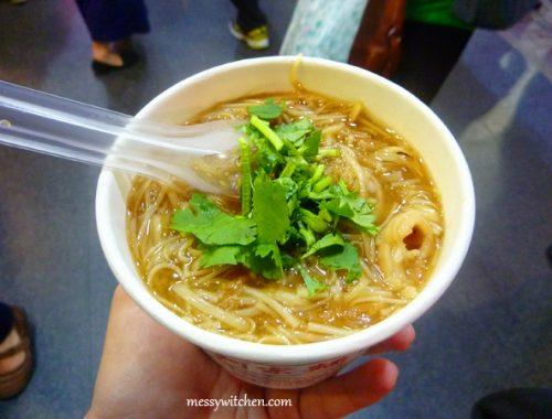 Ay-Chung Flour-Rice Noodle @ Emei Street, Taipei