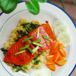 Nigella's Mirin Glazed Salmon